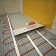 Ecofloor fűtőszőnyeg telepítés 160w