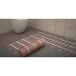 ecofloor fűtőszőnyeg 13 m2 elektromos padlófűtés lerakása