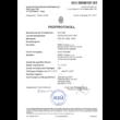 Ecofloor fűtőszőnyeg 1400 W igazolás