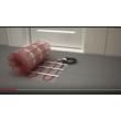 Ecofloor fűtőszőnyeg 820 W elektromos padlófűtés telepítés