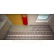 fűtőszőnyeg ecofloor mat 180 w elektromos padlófűtés lerakás