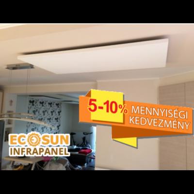 Infrapanel - Fenix EcoSun U+ 600 W Gravelly Snow (Új fejlesztés!)
