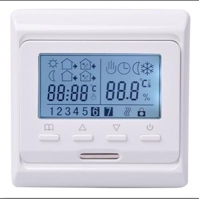 termosztát elektromos padlófűtésekhez.