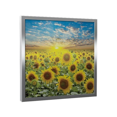 Üveg - kép infrapanel Fenix EcoSun 300 G (300 W) Képes kivitel - Napraforgó