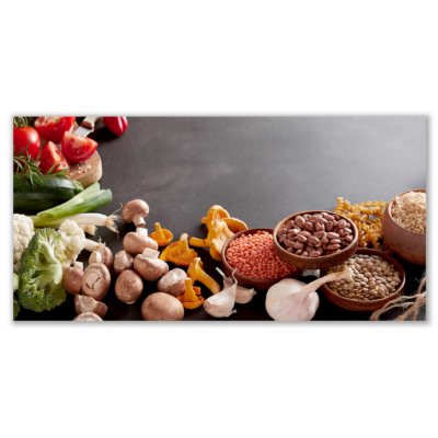 Üveg - kép infrapanel Food 3 (600 W) Új termék!