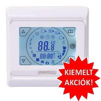 Érintőképernyős  digitális termosztát padló szenzorral M9