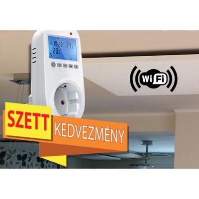 Infrapanel Wi Fi termosztáttal Szett Akció!   Fenix EcoSun U+ 1000 W